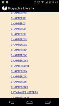 Biographia Literaria apk screenshot