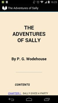 The Adventures of Sally poster