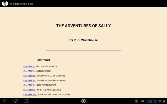 The Adventures of Sally apk screenshot