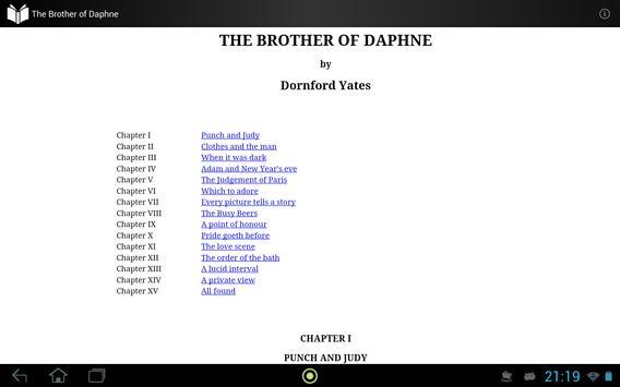 The Brother of Daphne apk screenshot
