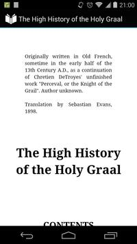 High History of Holy Graal poster