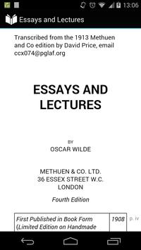 Essays and Lectures poster