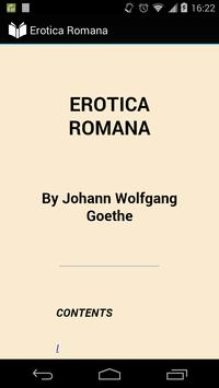 Erotica Romana poster