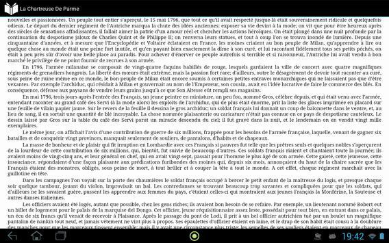 La Chartreuse De Parme apk screenshot