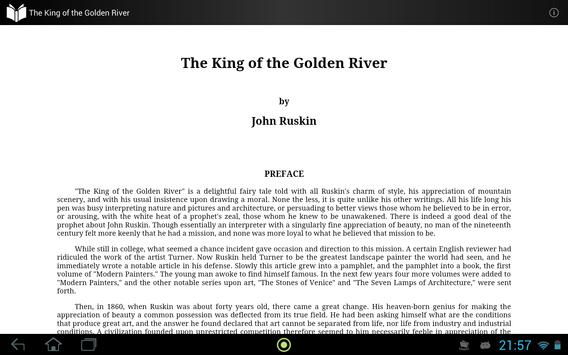 The King of the Golden River apk screenshot