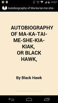 Autobiography of Black Hawk poster