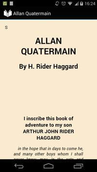 Allan Quatermain poster