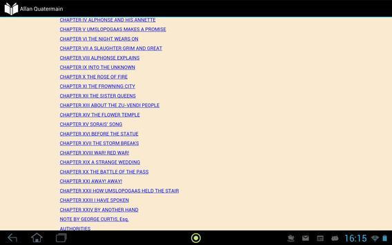 Allan Quatermain apk screenshot