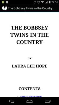 Bobbsey Twins in the Country poster