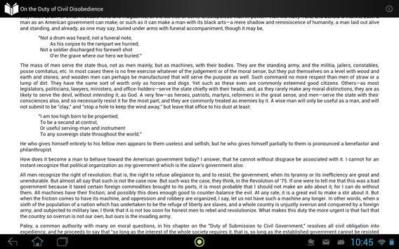 On Duty of Civil Disobedience apk screenshot