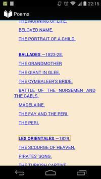 Poems by Victor Hugo apk screenshot