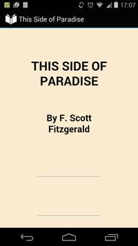 This Side of Paradise poster
