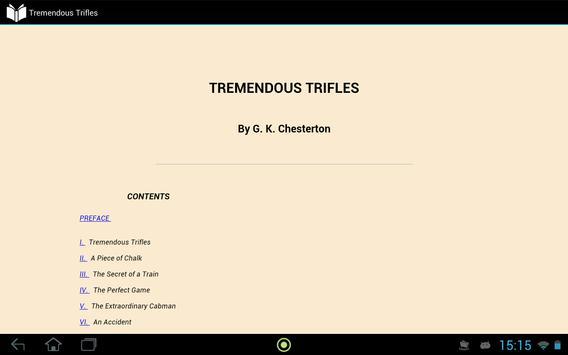 Tremendous Trifles apk screenshot