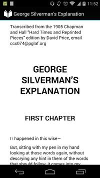 George Silverman's Explanation poster