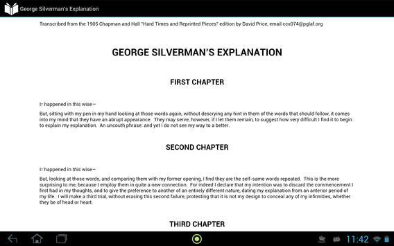 George Silverman's Explanation apk screenshot
