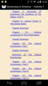 Democracy in America Volume 1 apk screenshot