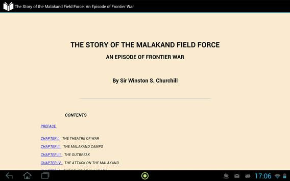 Story of Malakand Field Force apk screenshot
