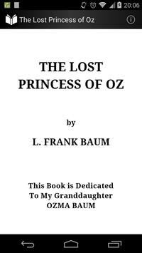 The Lost Princess of Oz poster