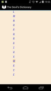 The Devil's Dictionary apk screenshot