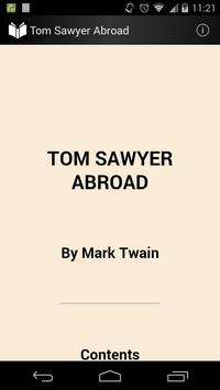 Tom Sawyer Abroad poster