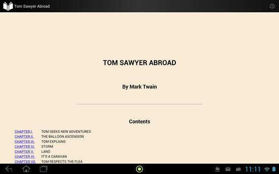 Tom Sawyer Abroad apk screenshot