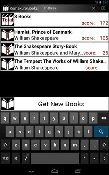 Komakuro Books apk screenshot