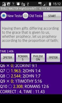 Visual Bible 21 Game for LDS apk screenshot