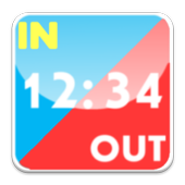 Time card icon