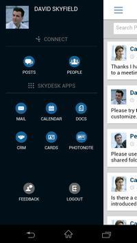 SkyDesk Mobile poster