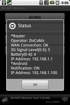 3G-WiFi Monitor apk screenshot