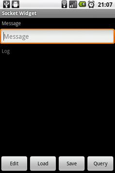 Socket Widget apk screenshot