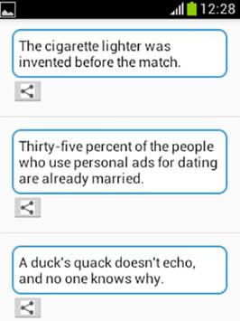 Funny Facts apk screenshot