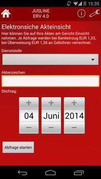 JUSLINE ERV Unternehmen apk screenshot