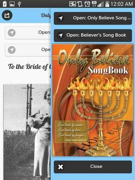 Only Believe & Believers Hymns apk screenshot
