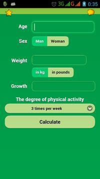 Calorie Detection poster