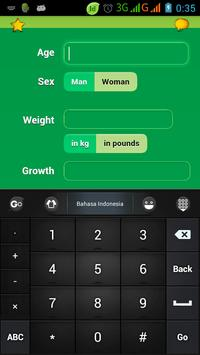 Calorie Detection apk screenshot