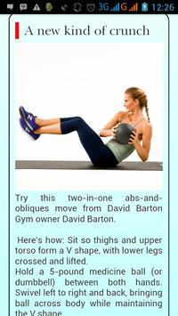 Belly Workout At Home apk screenshot