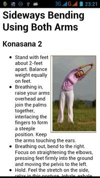 Daily Yoga Exercise apk screenshot