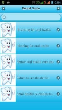 Dental Guide poster