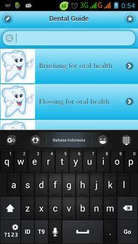 Dental Guide apk screenshot