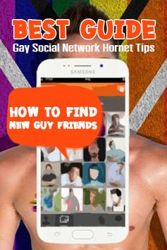 Gay Social Network Hornet Tips poster