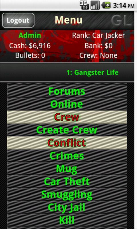 gangster games online mmorpg