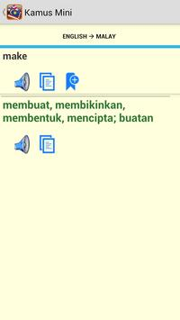 Kamus Mini English Malay apk screenshot