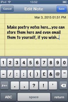 Old Love Poems apk screenshot
