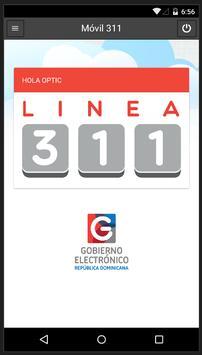 Línea 311 República Dominicana apk screenshot