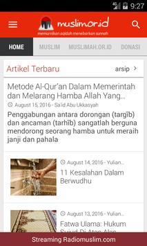 Muslim.or.id Official App apk screenshot