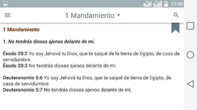 Oraciones Catolicas Español apk screenshot