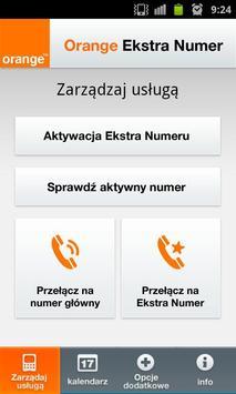 Orange Extra Number poster