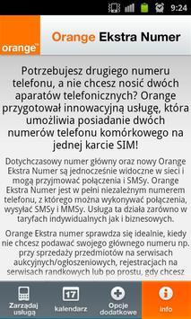 Orange Extra Number apk screenshot