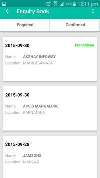 Franchise Care apk screenshot